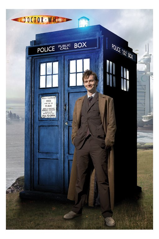 Doctor Who And The Tardis David Tennant